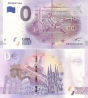 Banknote 0 EURO. 2018. UNC. FIFA World Cup 2018. Argentina National Team - EURO