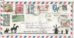 TOLEDO SOBRE TURISTICO SELLOS TELECOM ARTE RUPESTRE COLON DIA DEL SELLO MONASTERIO - 1931-Hoy: 2ª República - ... Juan Carlos I