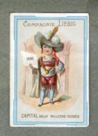 Chromo Liebig S 8 S8 NOBLE NOBILITY Capital 9 Millions R3 Rare MERTENS 1872  Victorian Trade Card - Liebig