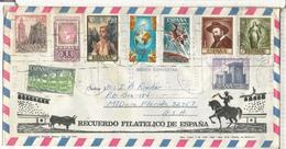 TOROS SOBRE TURISTICO SELLOS BENALMADENA RELIGION ARTE GIRALDA VIRGEN QUIJOTE CASTILLO - 1931-Hoy: 2ª República - ... Juan Carlos I