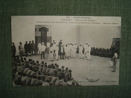LOT 3 CPA GUINEE CONAKRY AFFAIRES GOMBA 1911 WALI HAMAC GOUVERNEUR FOULAHS KARAMOKO ASSISES JUSTICE TRIBUNAL SENTENCE - Guinea