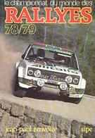 Le CHAMPIONNAT Du MONDE Des RALLYES 78/79 - Sport