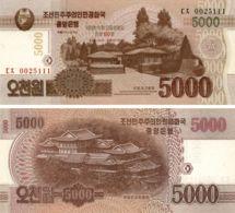 North Korea 5000 Won 2013 UNC (PCS18) - Korea, North