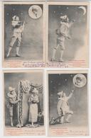 MF145 - Superbe Série Complète De 10 Cartes BERGERET - Pierrot Père De Famille - 1903 - Bergeret