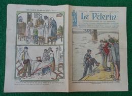 Revue Illustrée Le Pèlerin - Mars 1923 - Sauvetage Au Pont De Bonn - Réunion En Forêt De Membres Du Ku Klux Klan - Journaux - Quotidiens