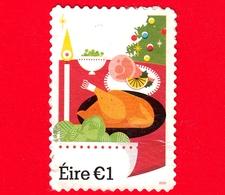 IRLANDA - EIRE - Usato - 2018 - Natale - Christmas - 1 - 1949-... Repubblica D'Irlanda