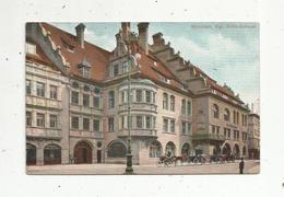 Cp, Allemagne , MUENCHEN ,  MÜNCHEN ,  Kgl. Hofbräuhaus, Voir 2 E Scan : Cachet HB - Muenchen