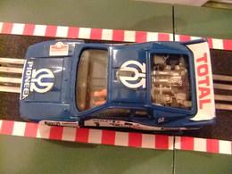 Scalextric Lancia Rally 037 Azul Ref.4073 Con Luz Made In Spain - Circuitos Automóviles