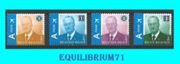 3867/3870** Effigie Royale/Koninklijke Beeltenis Albert II - BELGIQUE - BELGIË - Ungebraucht