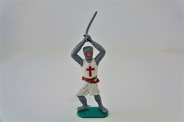 Timpo : CRUSADER WITH BROADSWORD - 1960-70's, Made In England, *** - Figurines