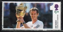 Great Britain 2013 Single £1.28p Stamp From Andy Murray Wimbledon Champion Mini Sheet. - 1952-.... (Elizabeth II)