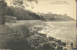 ( BRETAGNE)(22 COTES DU NORD)( ST JACUT DE LA MER ) LA PLAGE DU PRIEURE A MAREE BASSE - Saint-Jacut-de-la-Mer