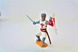 Timpo : CRUSADER WITH SWORD - 1960-70's, Made In England, *** - Figuren