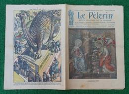 Revue Illustrée Le Pèlerin - Mars 1923 - Une Avalanche Dans Les Alpes - Les Fossiles Politiques - Journaux - Quotidiens