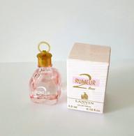 Miniatures De Parfum  RUMEUR 2 ROSE  De  LANVIN  EDP  4.5 Ml   + Boite - Modern Miniatures (from 1961)