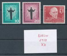 Berlin Jahrgang 1958 ** Komplett Mi. 3,50 - Berlin (West)