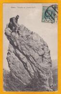 1922 -  CP De Varsovie, Pologne Vers Paris, France, Affranchissement 10 Gr Tarif Imprimé - Vue: Touriste Dans Les Tatras - 1919-1939 République