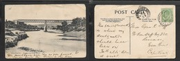 S. Africa, Cradock, Bridge Over Fish River, Used SOMERSET EAST OC 26 04 . CapeTown, THREE ANCHOR BAY Transit - South Africa