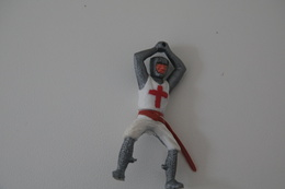 Timpo : PARTS/REPAIR CRUSADER HORSE RIDER BROADSWORD - 1960-70's, Made In England, *** - Figurines