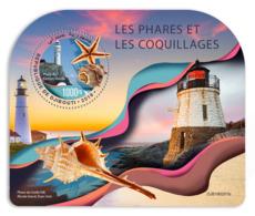 Djibouti  2019  Lighthouses And Shells    S201904 - Djibouti (1977-...)