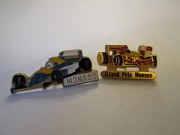PIN'S   Lot 2  Formule 1  MONACO - F1