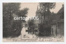 - CPA COMINES (Belgique) - Embranchement De La Lys 1904 (avec Personnages) - Edition Paul Denys 11.226 - - Comines-Warneton - Komen-Waasten
