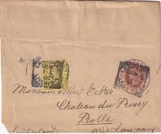 GRANDE-BRETAGNE   1898     ENTIER POSTAL/GANZSACHE/POSTAL STATIONERY BANDE JOURNAL DE LARK LANE - Stamped Stationery, Airletters & Aerogrammes