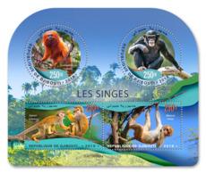 Djibouti  2019  Fauna Monkeys  Chimpanzee    S201904 - Djibouti (1977-...)