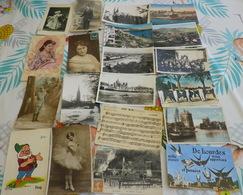 Lot De 400  Cp Environs France Issus De  Brocante - 100 - 499 Postcards