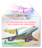 Djibouti  2019   Concorde Airplane   S201904 - Djibouti (1977-...)