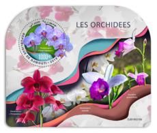 Djibouti  2019    Orchids  S201904 - Djibouti (1977-...)