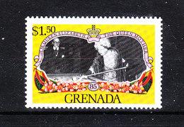 Grenada  - 1985. Regina Madre Al Biliardo. Queen Mother Playing Billiards. MNH - Francobolli