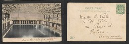S. Africa, Swimming Bath Interior, Camp's Bay, Used, 1/2d, GREENPOINT JU 14 05 > Pretoria - South Africa