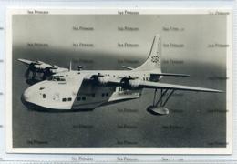 Aquila Airways Flying Boat Short Solent Sydney Madeira Funchal Hythe Southampton Postcard Airline Issue - 1946-....: Modern Era