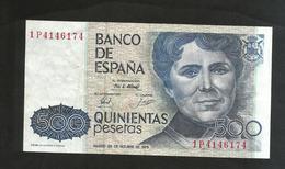 ESPANA / SPAIN / SPAGNA - El BANCO De ESPANA - 500 PESETAS (1979) - De Castro - [ 4] 1975-… : Juan Carlos I