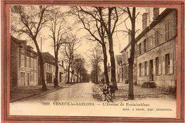 CPA - VENEUX-les-SABLONS (77) - Aspect De L'Hôtel-Restaurant Berlin De L'avenue De Fontainebleau En 1932 - France