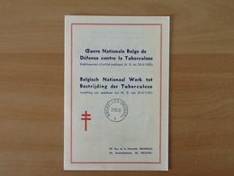 Nr.834/840 Antiteringzegels . Eerstedagafstempeling 20-12-50 Brussel. - Covers & Documents