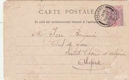 Cachet PAQUEBOT PLYMOUTH 21/11/1906 Sur Carte Postale Sierra Leone - Voir Scan - Sierra Leone (...-1960)