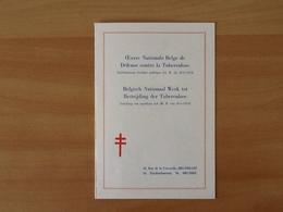 Nr.900/907 Antiteringzegels . Eerstedagafstempeling 15-12-52 Brussel. - Covers & Documents