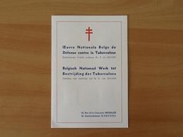 Nr.998/1004 Antiteringzegels . Eerstedagafstempeling 17-12-56 Brussel. - Covers & Documents