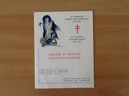Nr.1114/1120 Antiteringzegels . Eerstedagafstempeling 5-12-59 Brussel. - Covers & Documents
