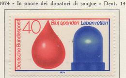 PIA - GERMANIA - 1974 : In Onore Dei Donatori Di Sangue  -   (Yv 646) - Salute