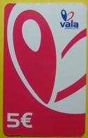 Kosovo Prepaid Phonecard, 5 Euro. Operator VALA *Butterfly*, Serial # 92....... - Kosovo