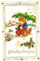 Cochon Et Parapluie - Pig -  Varken Onder Paraplu - Nieuwjaar