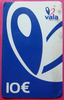 ERROR Kosovo Prepaid Phonecard, 10 Euro. Operator VALA *Butterfly*, Not Printed Serial # .......UNIQUE - Kosovo
