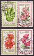 DDR , 1966 , Mi.Nr. 1189  - 1192 O / Used - Gebraucht