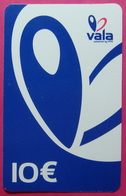 ERROR Kosovo Prepaid Phonecard, 10 Euro. Operator VALA *Butterfly*, NOT FULLY OPENED Serial # ...... - Kosovo
