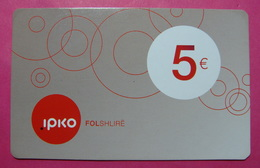 Kosovo Prepaid Phonecard, 5 Euro. Operator IPKO *Bubbles*, Serial # 11...... - Kosovo