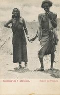 Souvenir De L' Abyssinie Beauté De Dankali . Nude Girl With Boyfriend . Undivided Back . Dos Non Divisé - Ethiopia