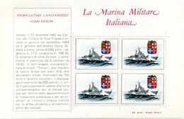 ERINNOFILIA / La Marina Militare Italiana - Vignetten (Erinnophilie)